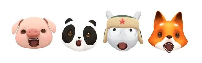 Xiaomi Mi 8 AR emoji