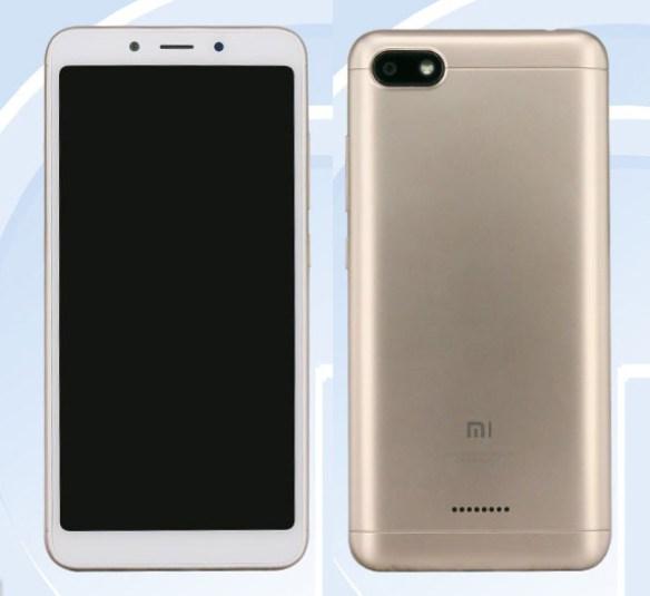 Xiaomi Redmi 6A tasarımı