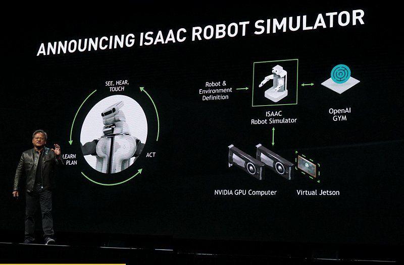 NVIDIA Isaac platformu