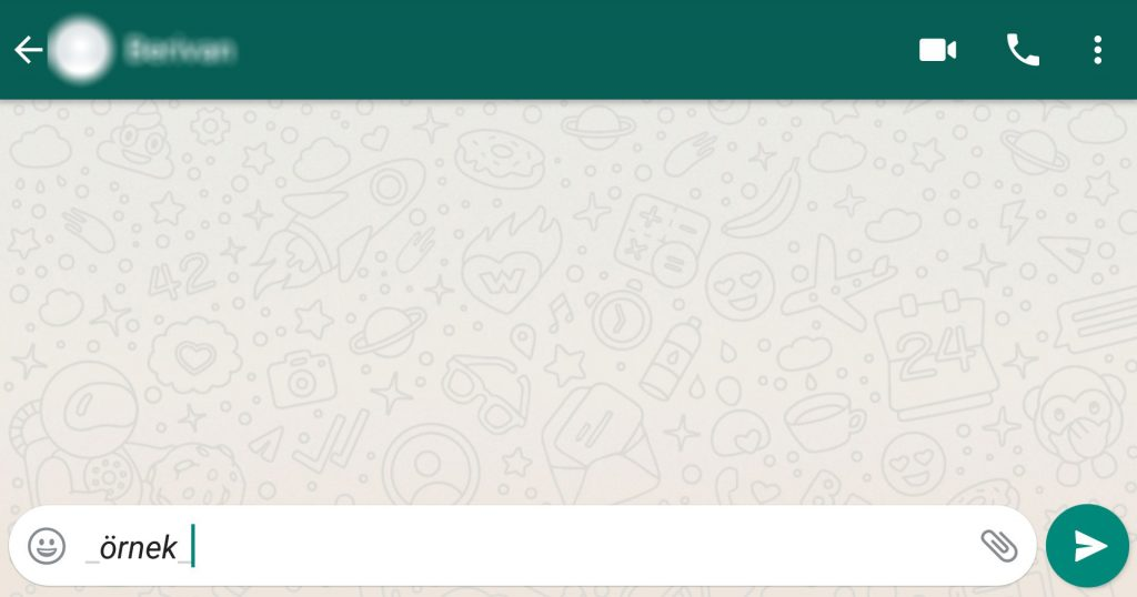 WhatsApp özellikleri