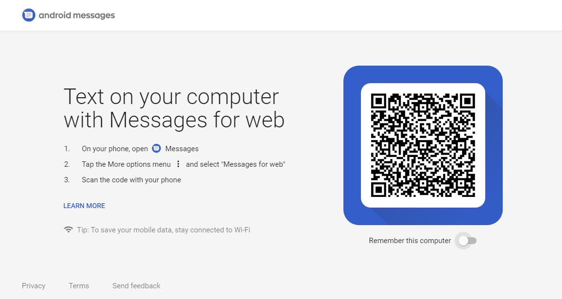 Android Mesajlar Web
