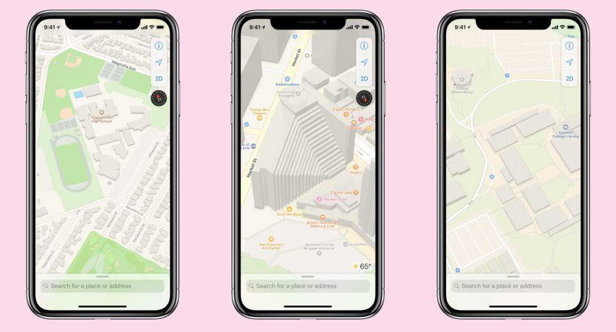 Apple Harita iOS 12