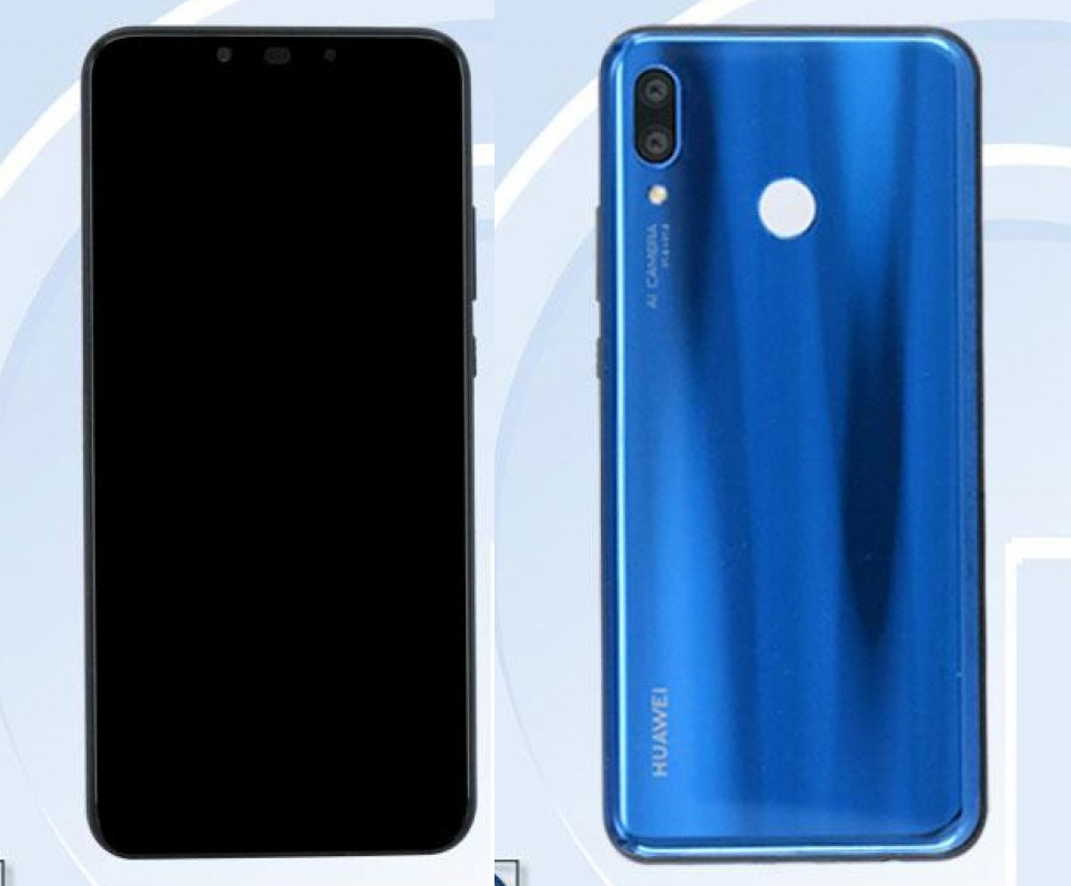 Huawei Nova 3 tasarımı