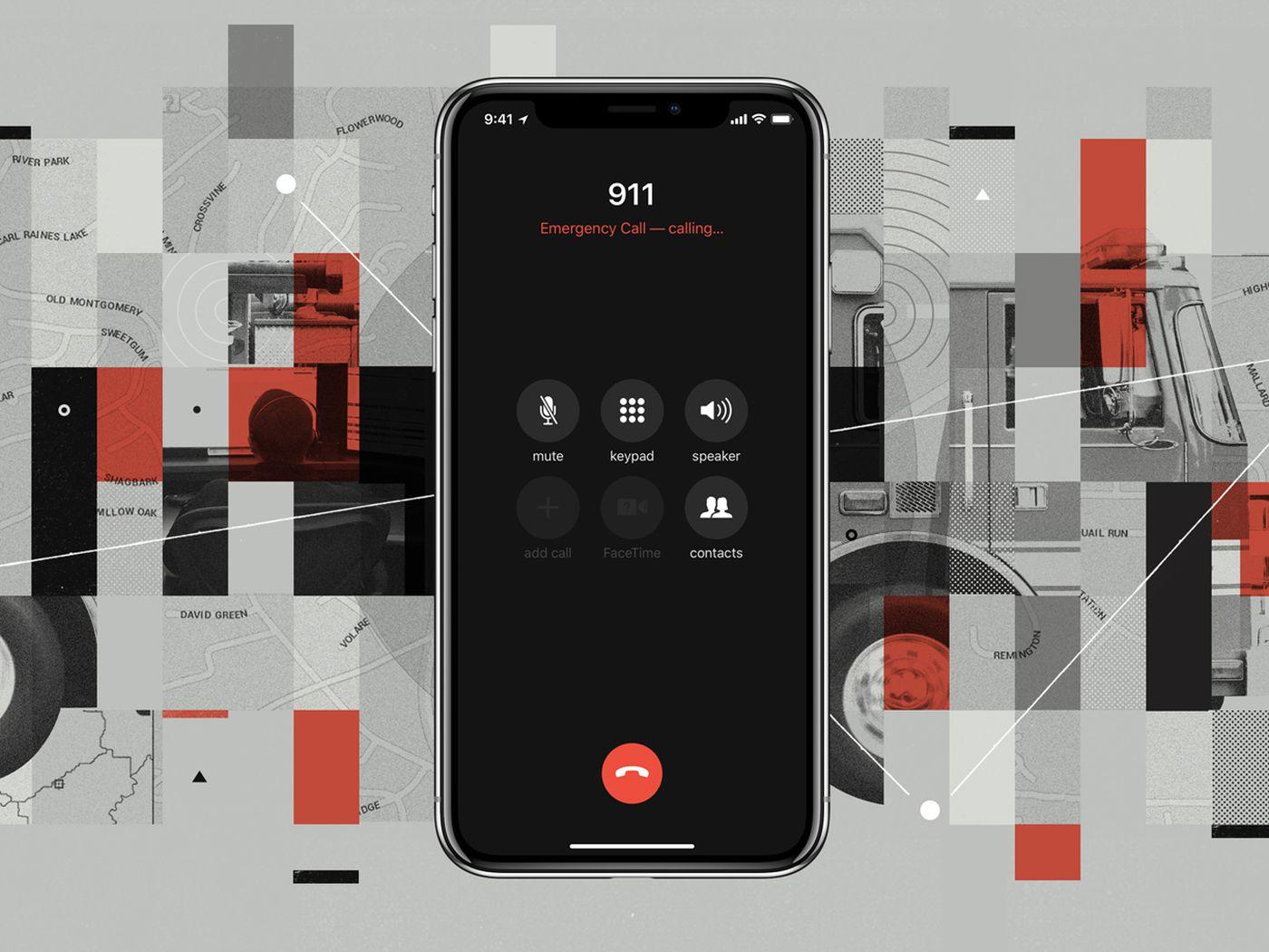 ios 12 ve 911