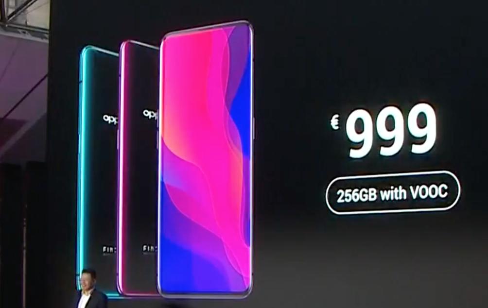 Oppo Find X fiyatı