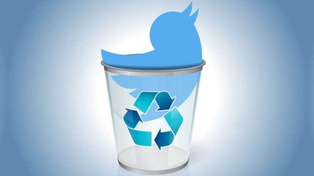 Twitter hesabını kalıcı olarak silme