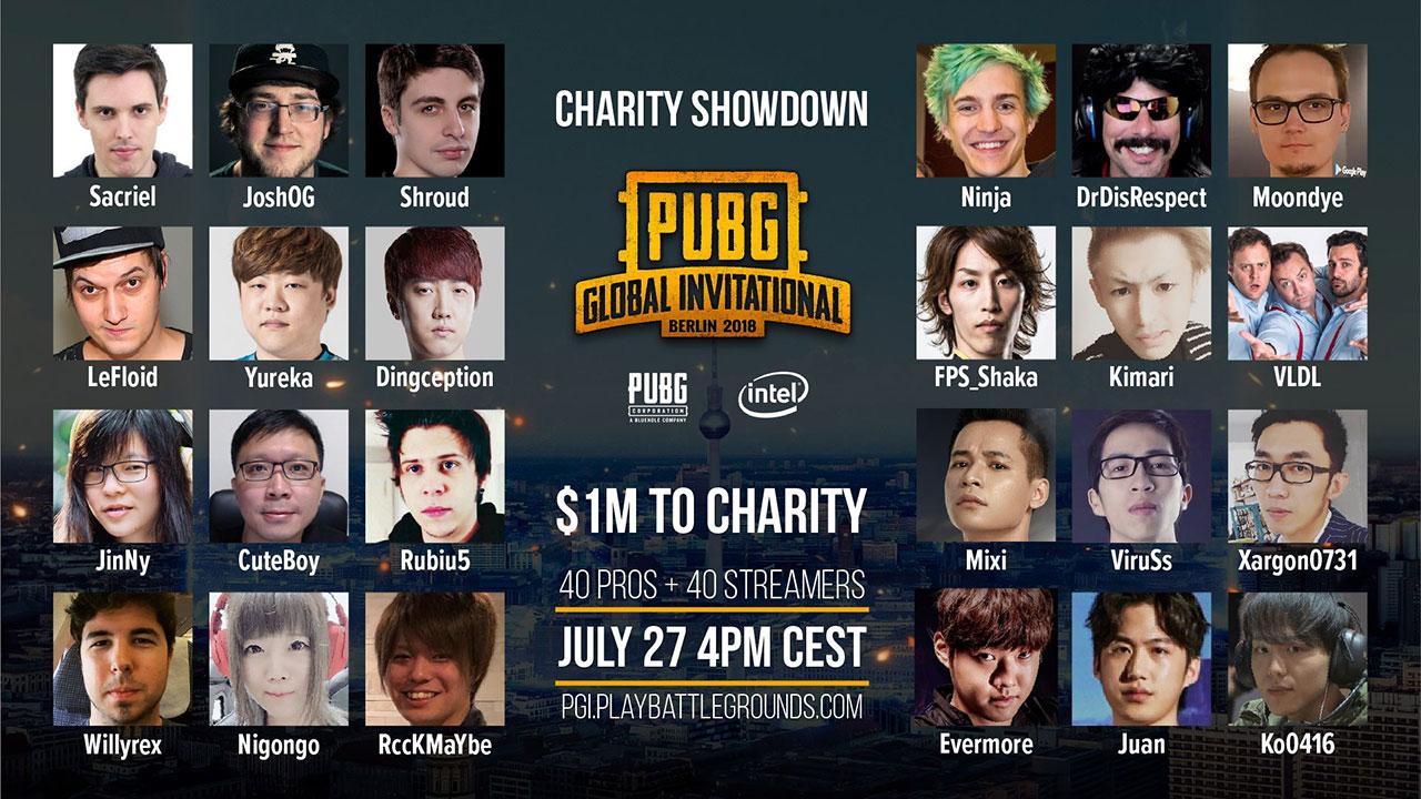 PUBG PGI Charity Showdown