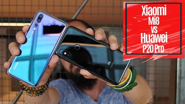 Huawei P20 Pro vs Xiaomi Mi 8