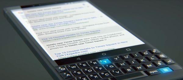 BlackBerry KEY2 tanıtım videosu