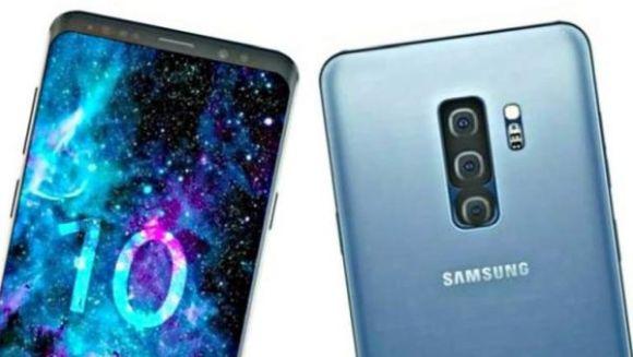 Galaxy S10 Plus çift selfie kamerası