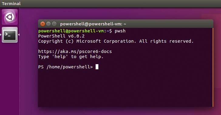 linux powershell 2