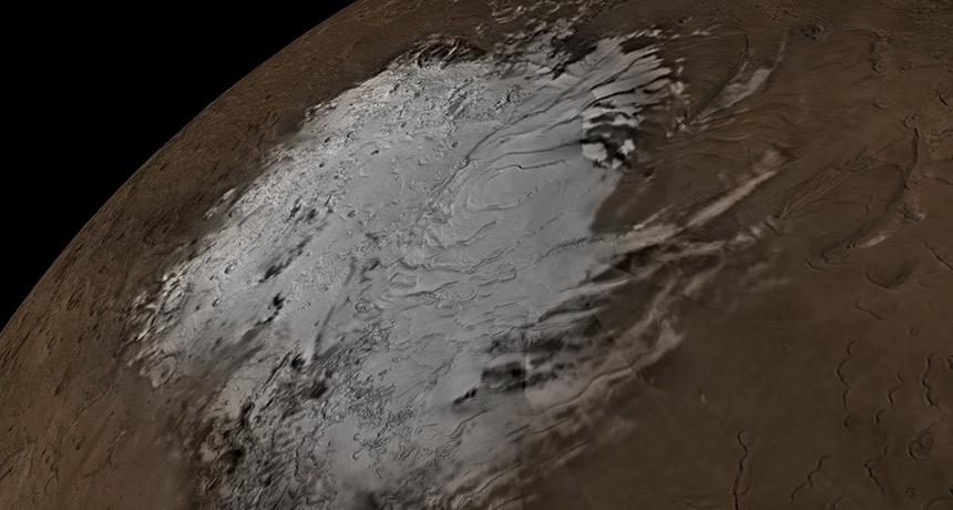 Marsta su kaynağı