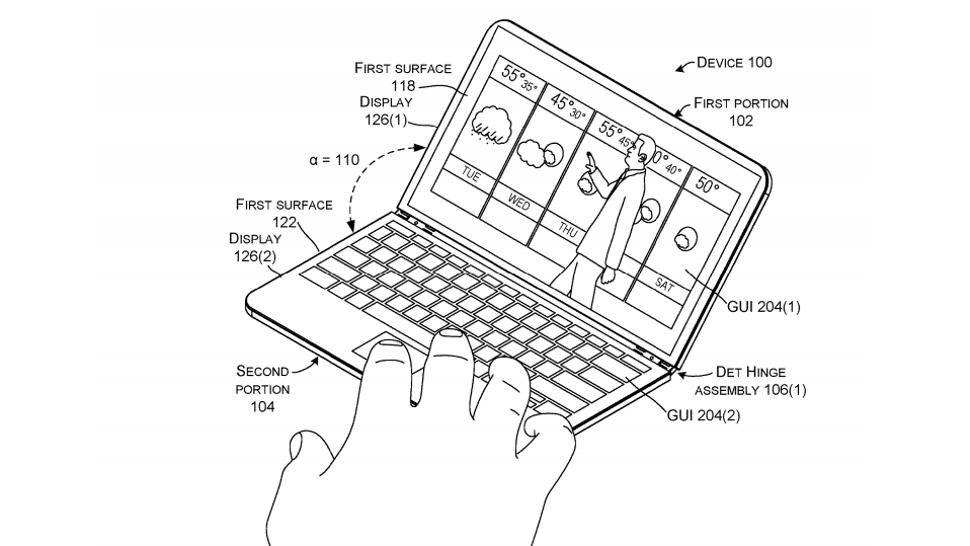 microsoft çift ekranlı cihaz