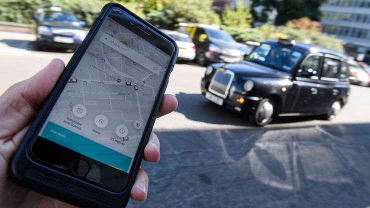 taksi şoförleri uber