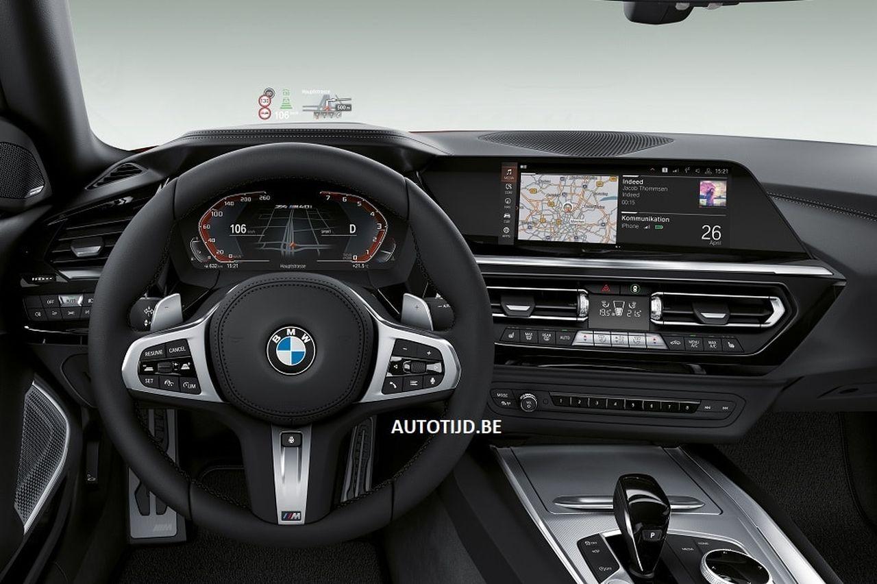2019 BMW Z4 basın görselleri