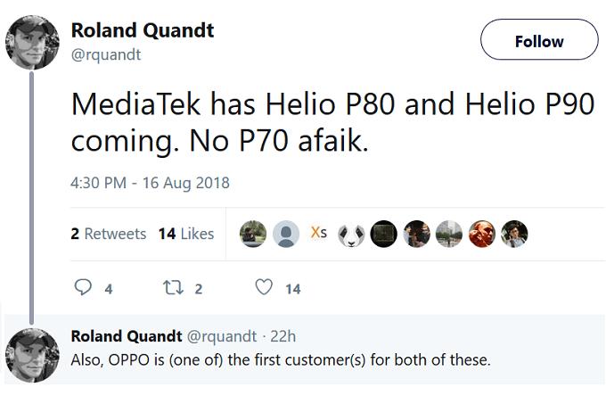 Helio P80 ve Helio P90