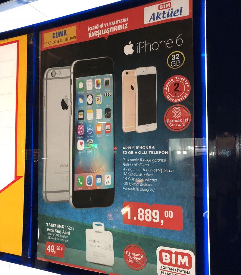 iphone 6 bim