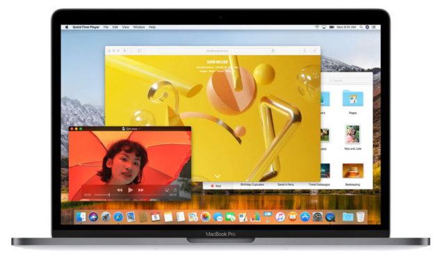 macOS High Sierra sentetik tıklama