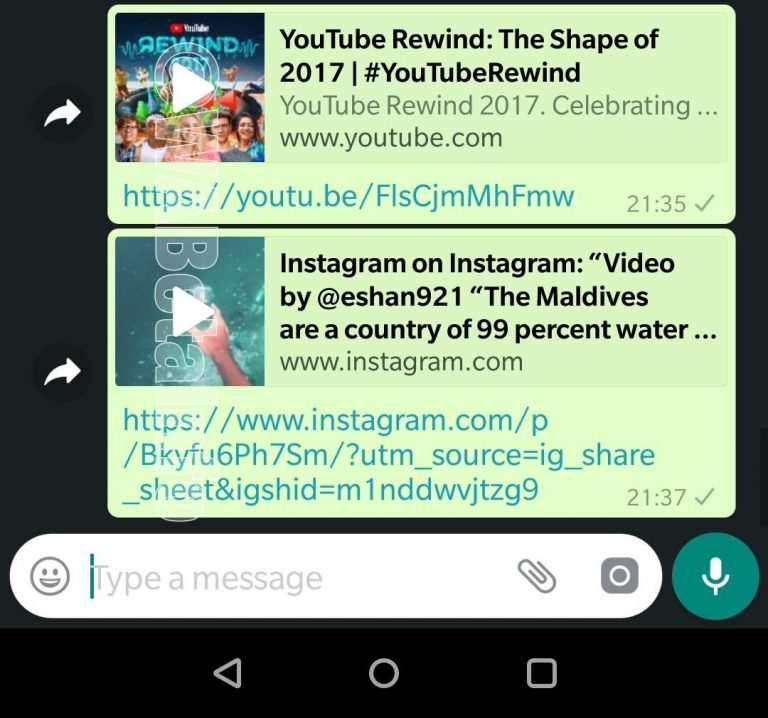 WhatsApp resim içinde resim