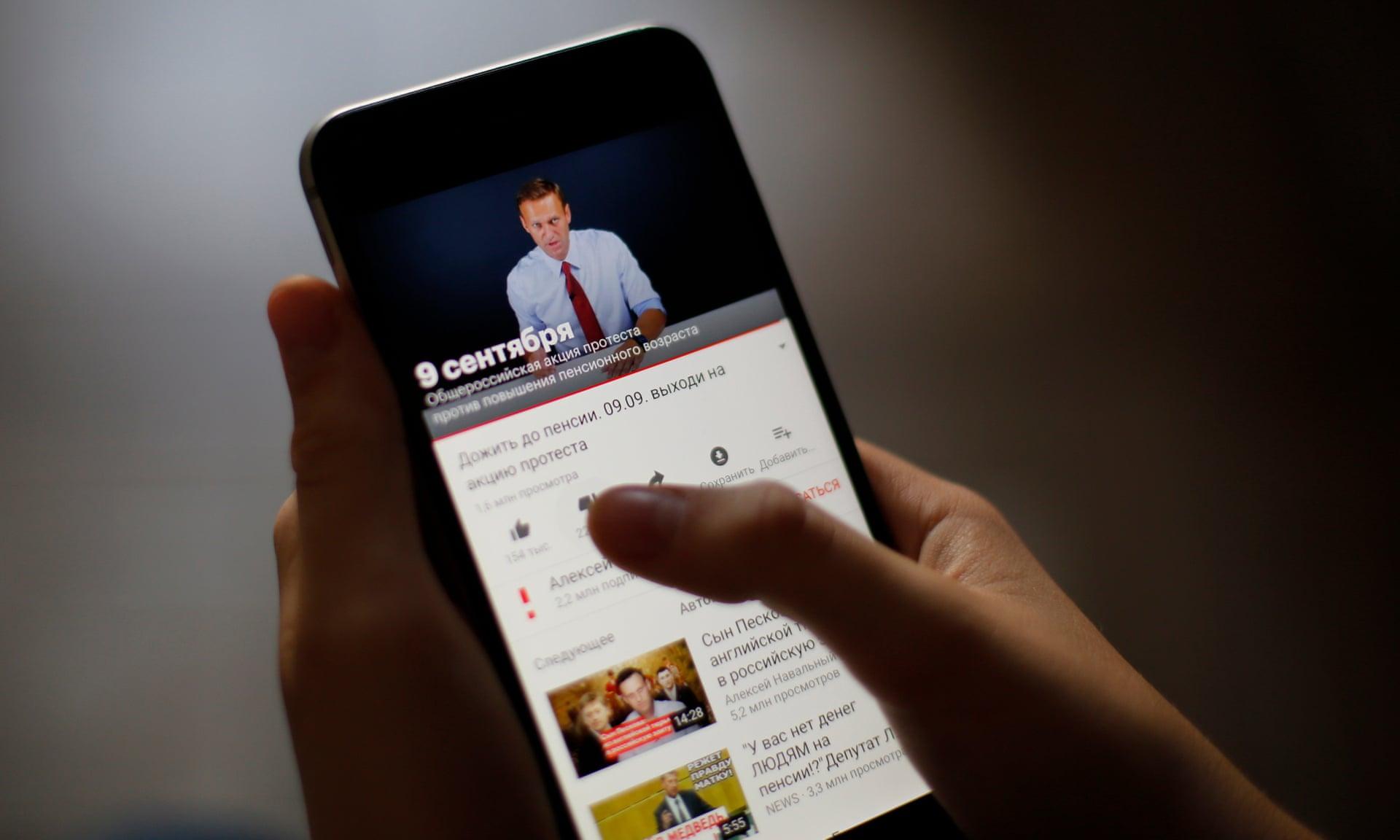 Alexei Navalny YouTube