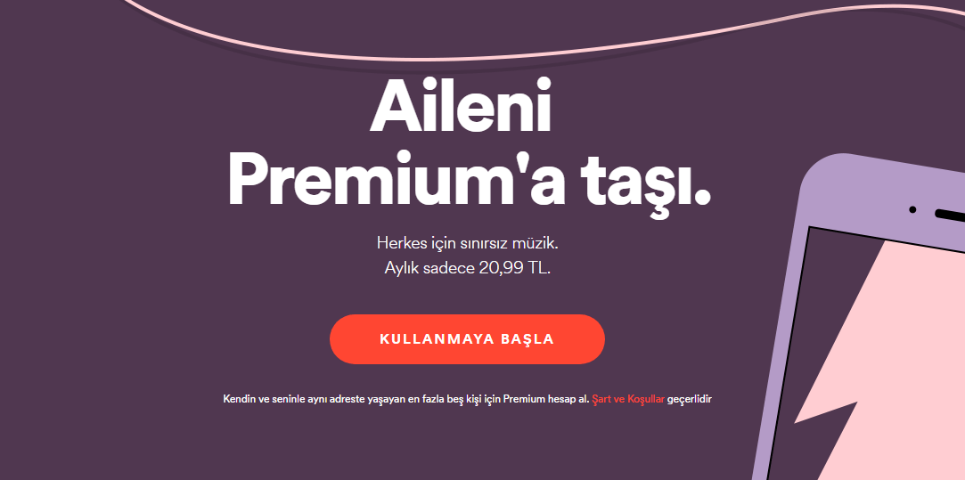 Spotify aile paketi