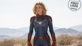İşte Captain Marvel'dan ilk görüntüler!