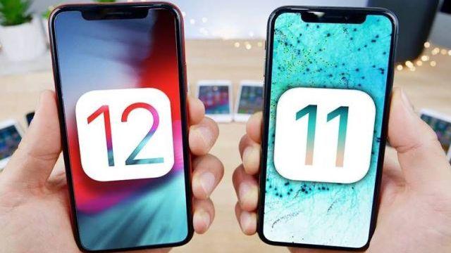 iOS 12 ve iOS 11
