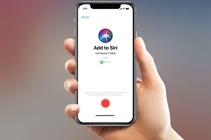 iOS 12 Siri kısayolları