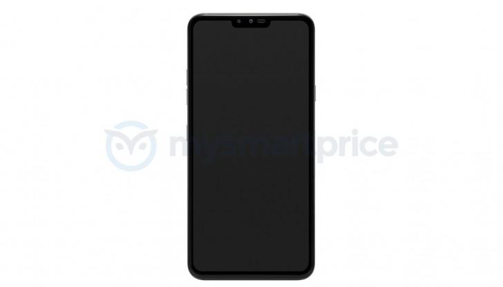 LG V40 Thinq ön panel tasarımı