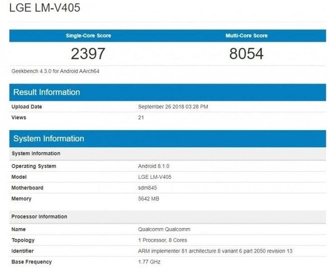 LG V40 ThinQ özellikleri