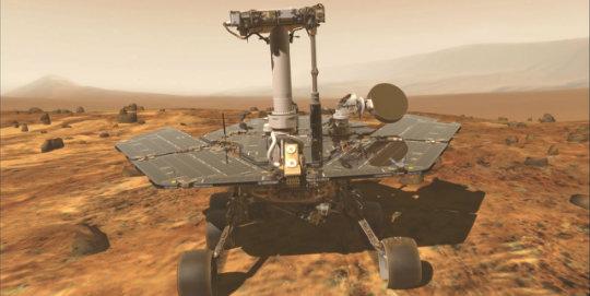 Mars aracı