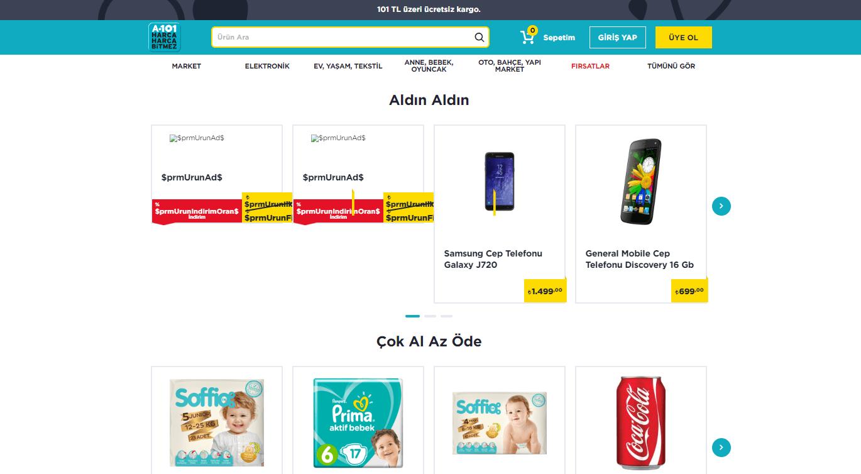 A101 Online Mağaza
