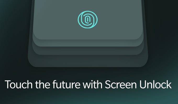 OnePlus 6T parmak izi okuyucusu