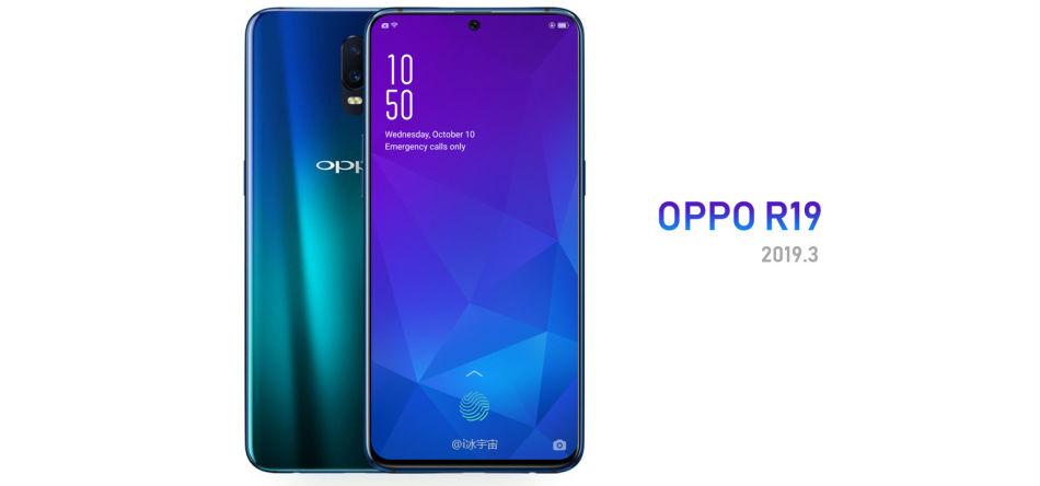 Oppo R19 tasarımı