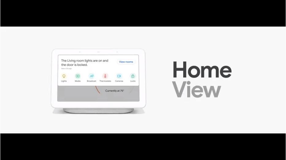 google home hub ev kontrolü