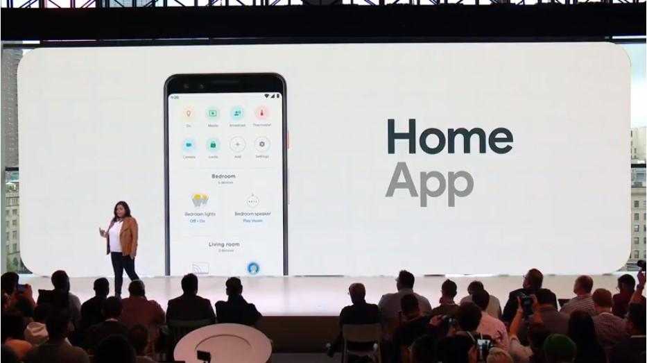 google home hub app