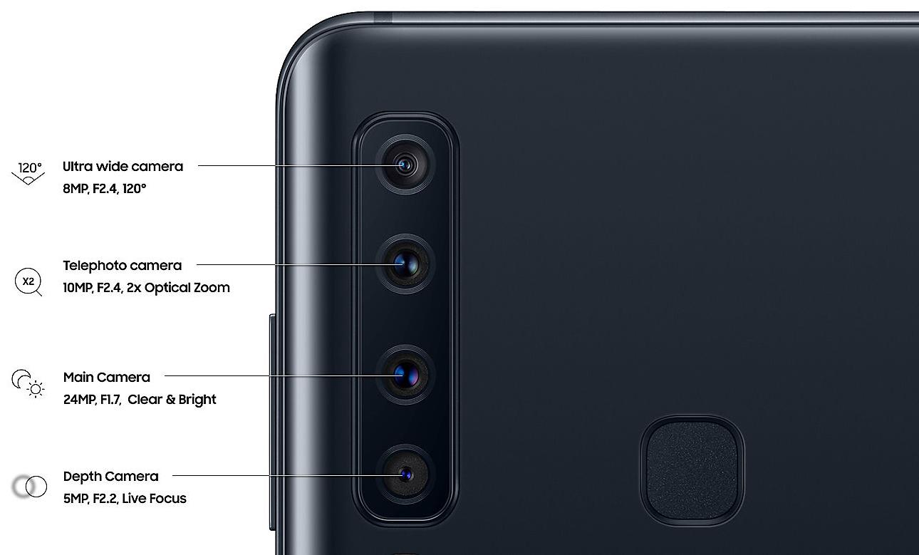 Galaxy A9 2018 özellikleri ve fiyatı
