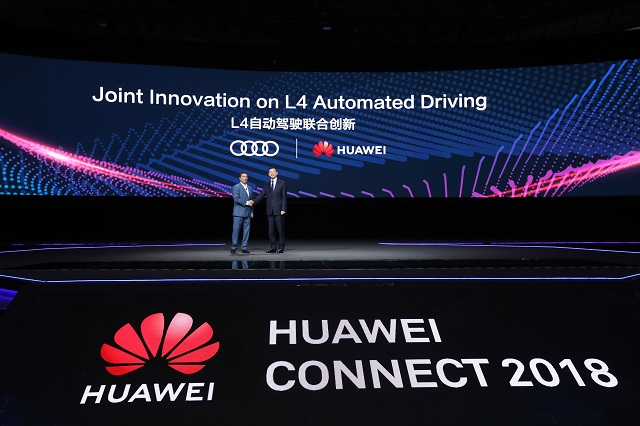 Huawei ve Audi