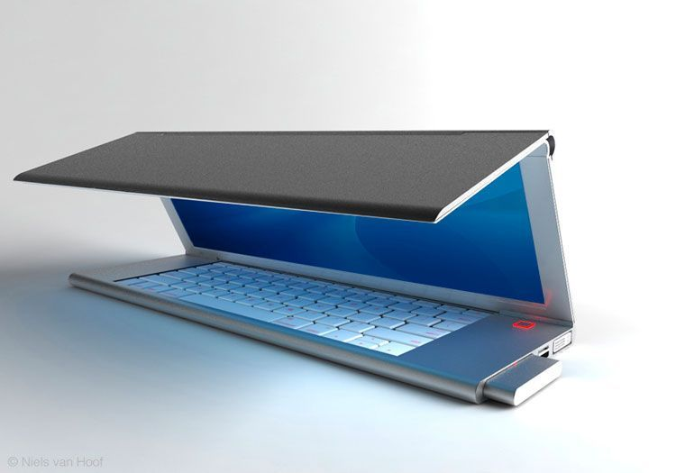 Samsung katlanabilir laptop