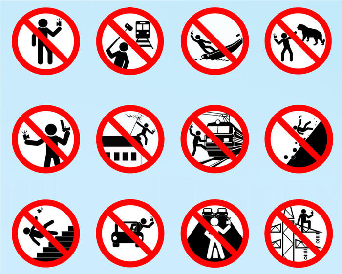 selfie yasağı