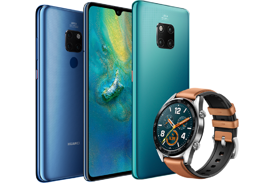 Mate 20 ve Watch GT Classic