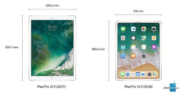 Yeni iPad Pro 2018 tasarımı