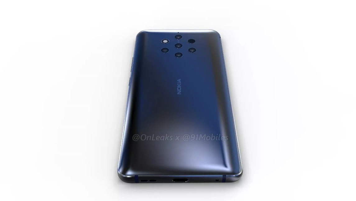 5 kameralı Nokia PureView