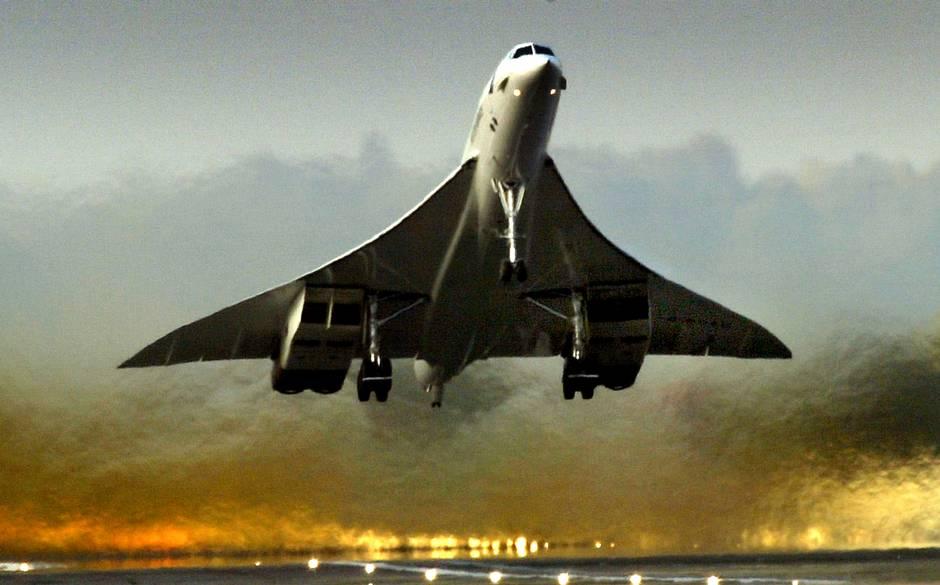 Concorde uçağı