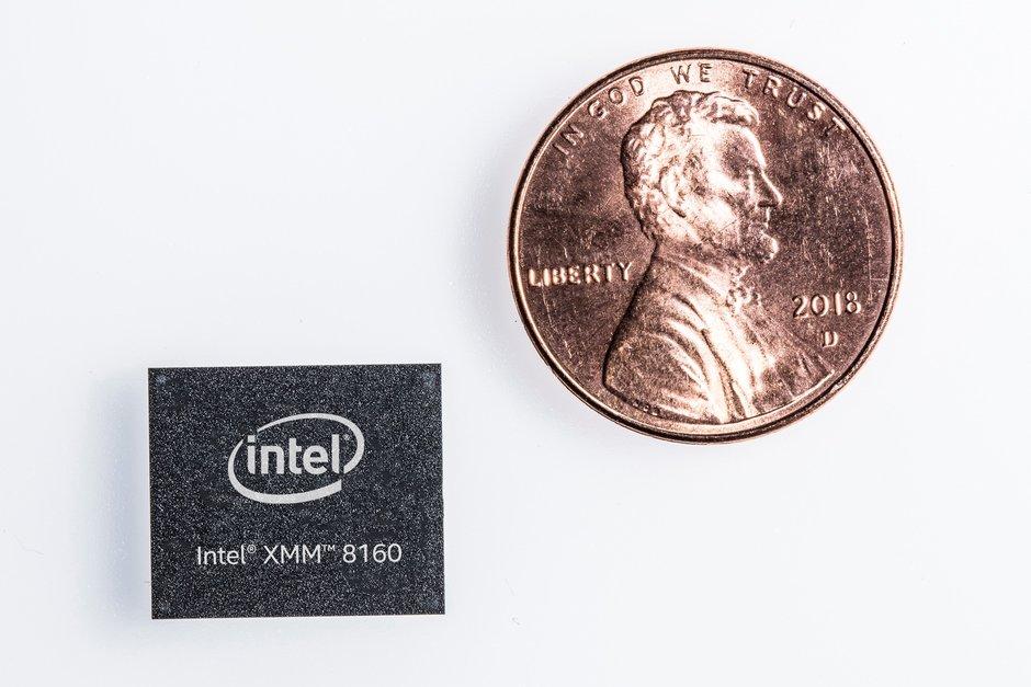 Intel 5G modem Intel XMM 8160