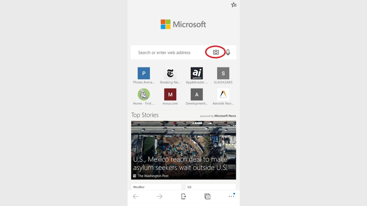 Microsoft Edge Android için yeni güncellemesini sundu! SDN-6