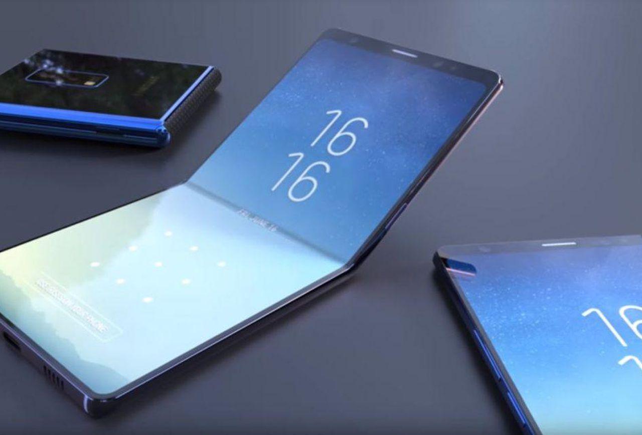 Samsung katlanabilir telefon detayları! SDN-1