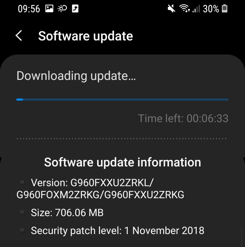 Android Pie Beta 2 Galaxy S9 ve S9 Plus