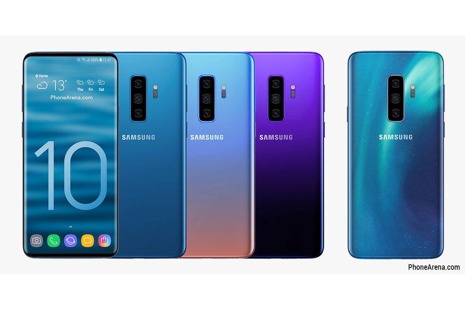 katlanabilir telefon ve galaxy s10