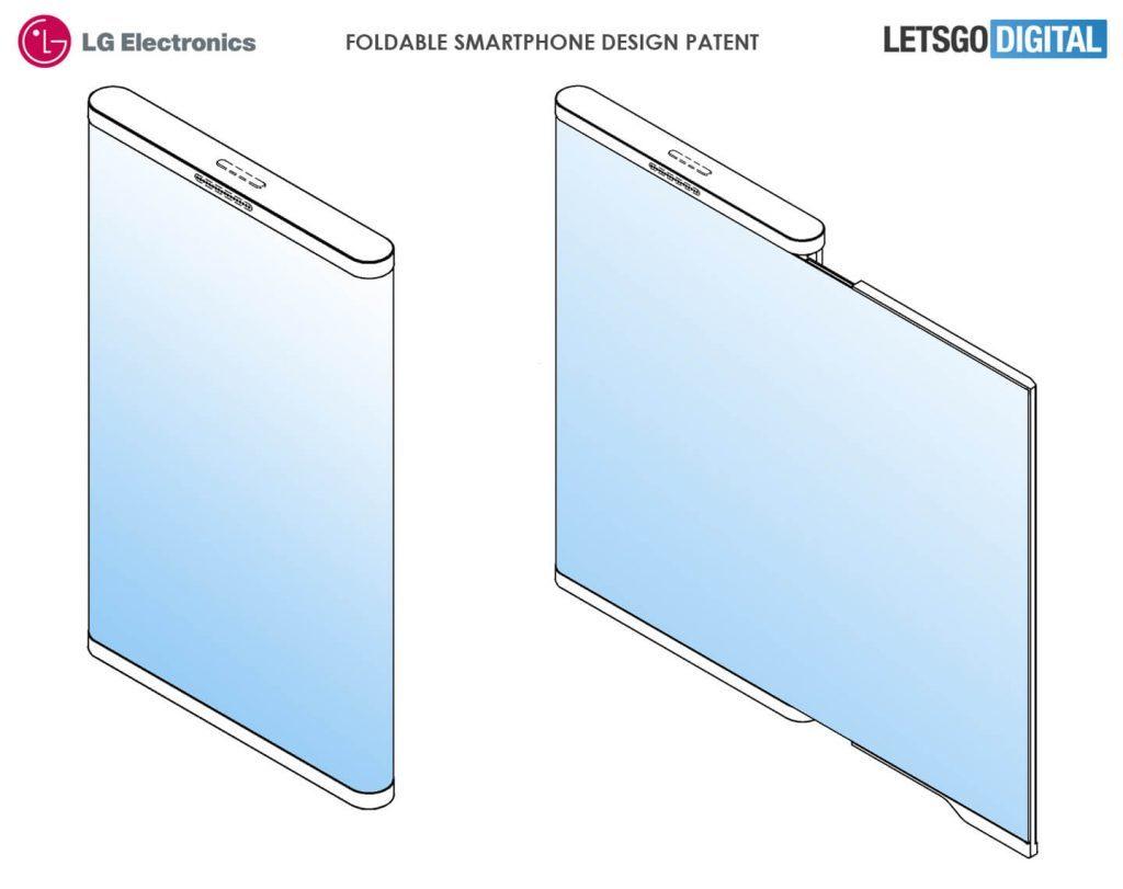 LG katlanabilir telefon için yeni bir patent aldı!